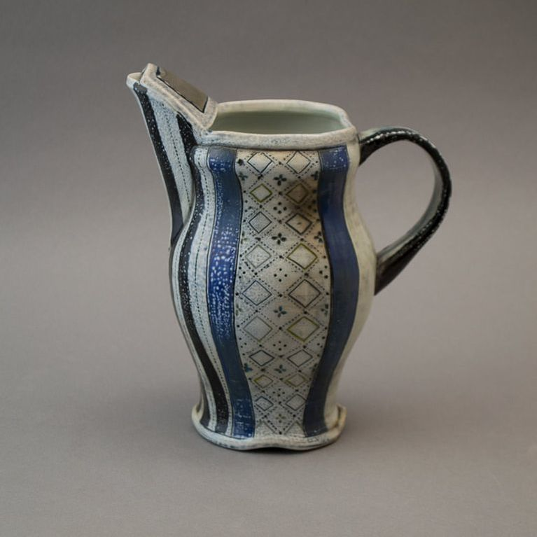 Pitcher and Tumbler Set; Susan McKinnon Ceramics